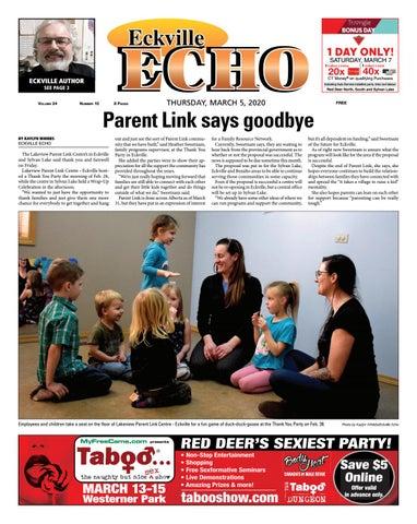 Eckville Echo, March 5, 2020