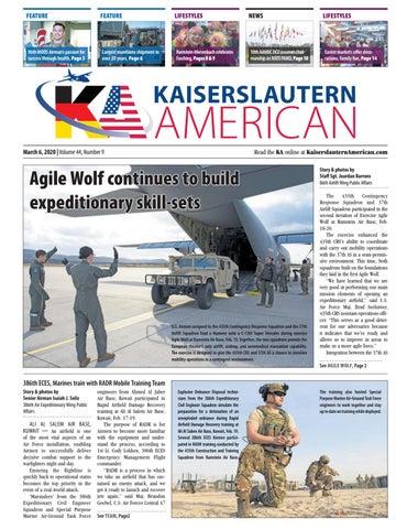 Kaiserslautern American, March 6, 2020