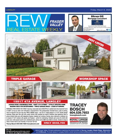 March 06, 2020 Real Estate Weekly - Langley