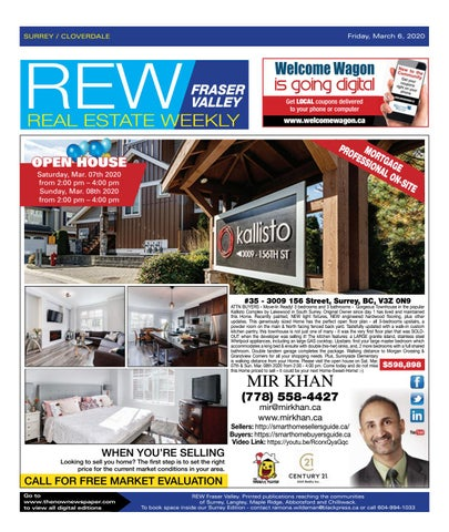 March 06, 2020 Real Estate Weekly - Surrey