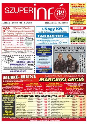 Jászberény 2020.03.12