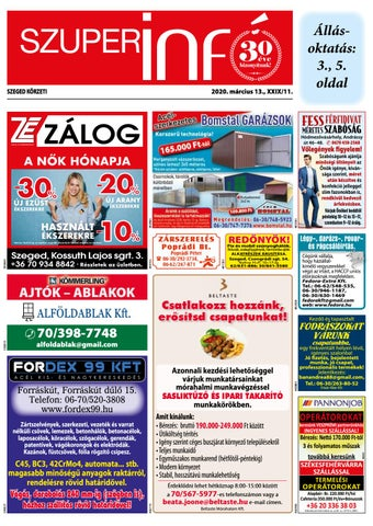Szeged 2020.03.13
