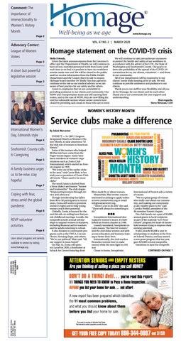 March 18, 2020 Everett Daily Herald