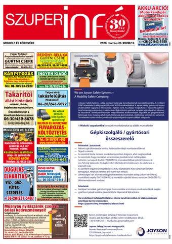 Miskolc, 2020.03.20