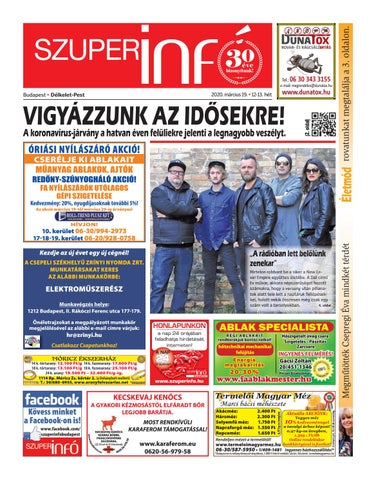 Délkelet-Pest 2020.03.19.