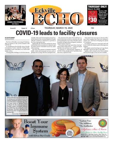 Eckville Echo, March 19, 2020