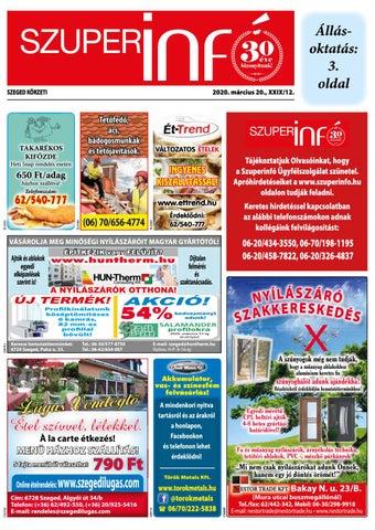Szeged 2020.03.20
