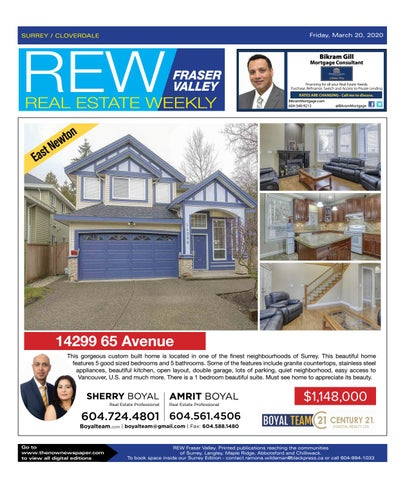 March 20, 2020 Real Estate Weekly - Surrey