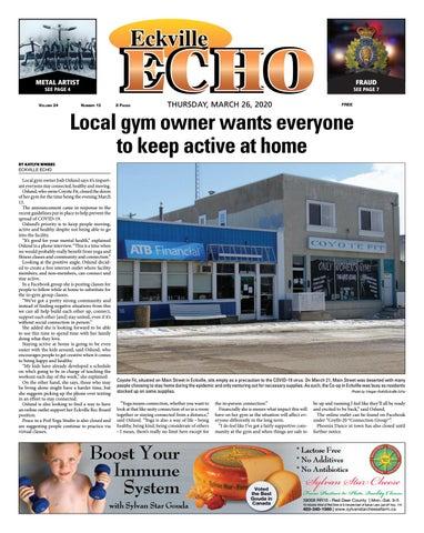 Eckville Echo, March 26, 2020