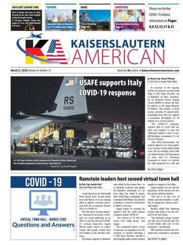 Kaiserslautern American, March 27, 2020