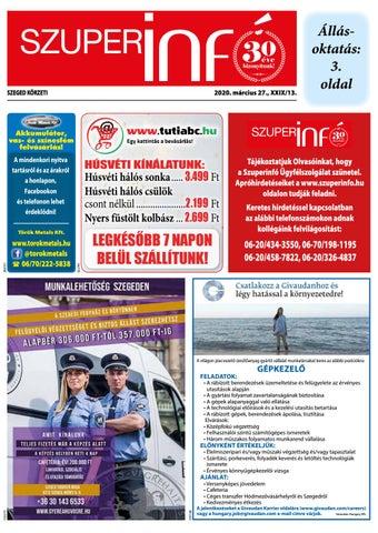 Szeged 2020.03.27
