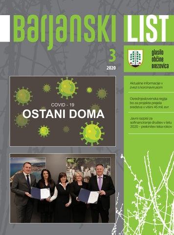 Barjanski list marec 2020