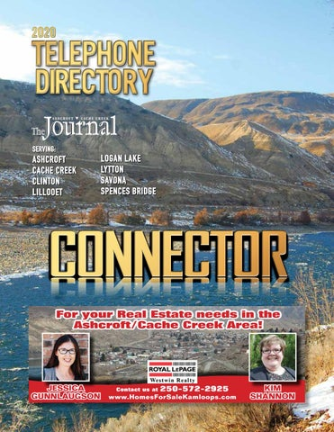 April 02, 2020 Ashcroft Cache Creek Journal