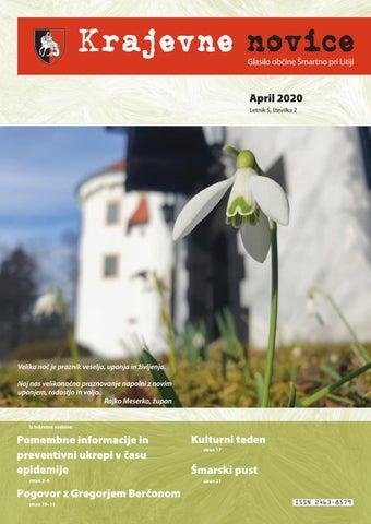 Krajevne novice - april 2020 (letnik 5, št. 2)
