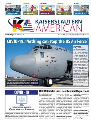 Kaiserslautern American, April 3, 2020