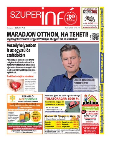 Délkelet-Pest 2020.04.09.