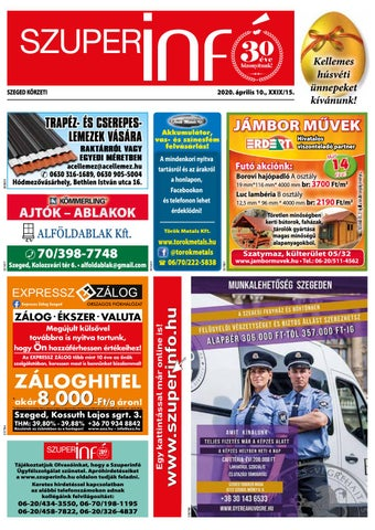 Szeged 2020.04.10