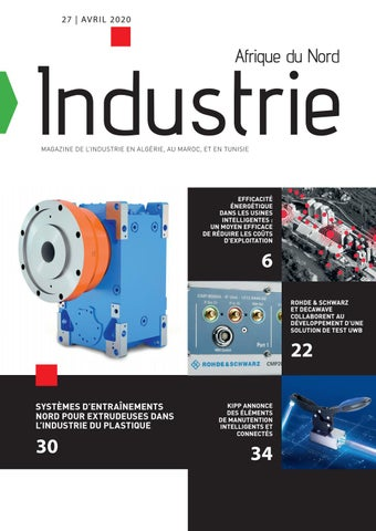 Industrie Afrique du Nord | 27 - Avril 2020