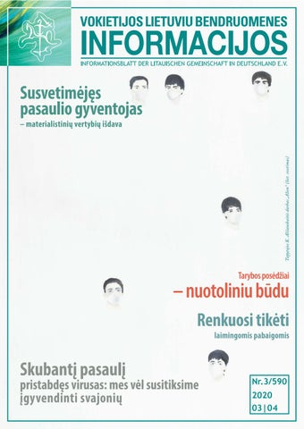 """VLB """"INFORMACIJOS"""", 2020 M. KOVAS-BALANDIS NR. 03/590"""