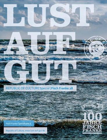 LUST AUF GUT Magazin | Special: Fisch Franke Nr. 6