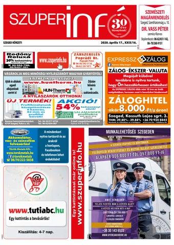 Szeged 2020.04.17