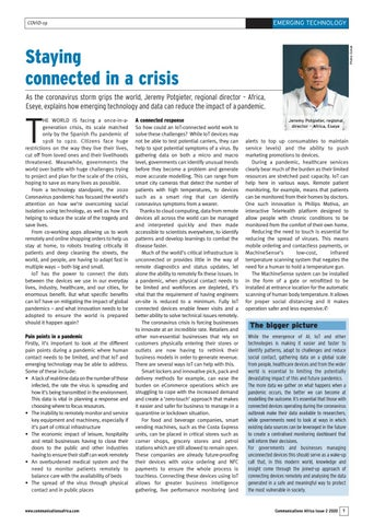Staying connected in a crisis