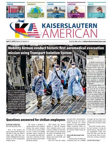 Kaiserslautern American - April 17, 2020