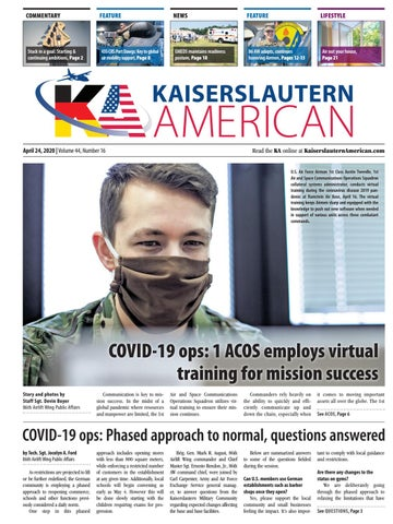Kaiserslautern American - April 24, 2020