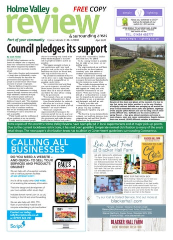 Holme Valley Review - April 2020