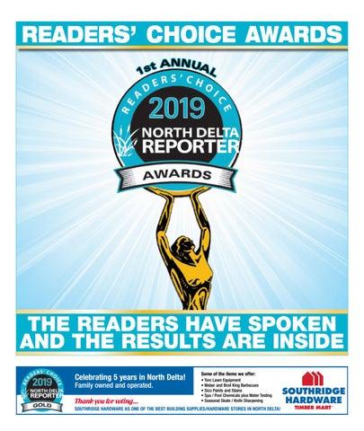 August 15, 2019 North Delta Reporter