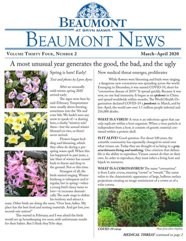 Beaumont News April 2020