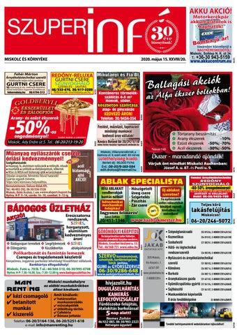 Miskolc, 2020.05.15