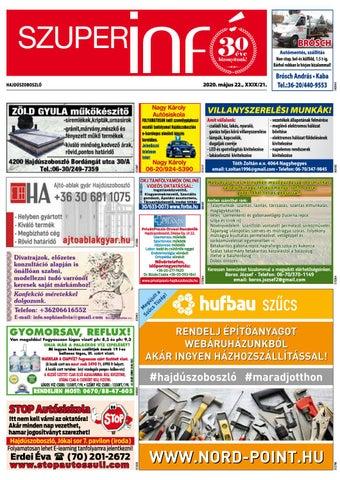 Hajduszoboszlo 2020.05.22