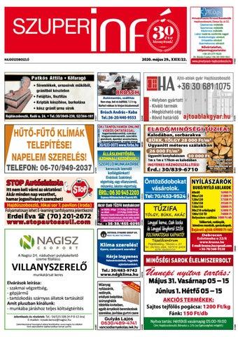 Hajduszoboszlo 2020.05.29