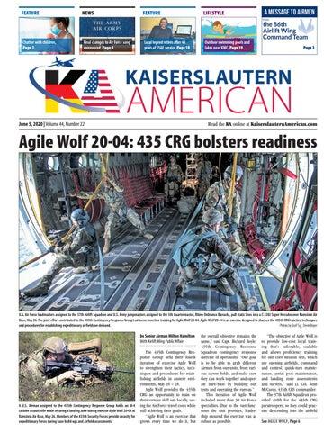 Kaiserslautern American - June 5, 2020