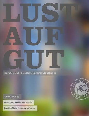 LUST AUF GUT Magazin | Magazin im Magazin </br> Special: Staufen