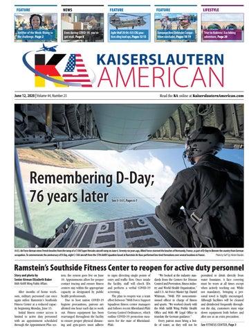 Kaiserslautern American - June 12, 2020
