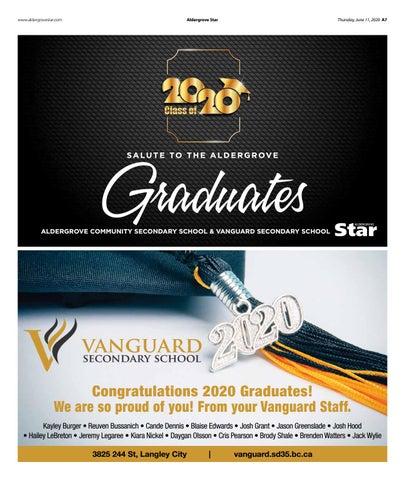Salute to the Aldergrove Graduates 2020