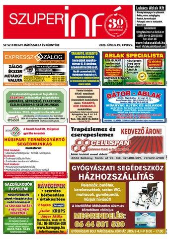 Mateszalka 2020.06.19