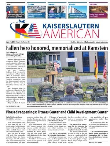 Kaiserslautern American - June 19, 2020