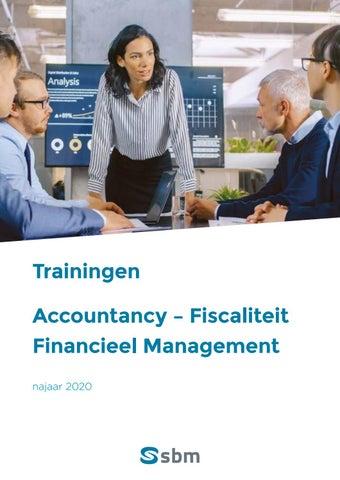SBM Accountancy en fiscaliteit Najaar 2020