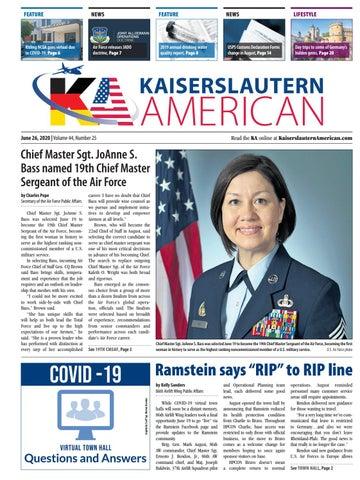 Kaiserslautern American - June 26, 2020