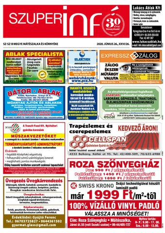 Mateszalka 2020.06.26