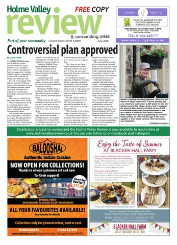 Holme Valley Review - June 2020