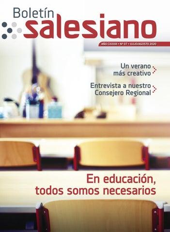 Boletín Salesiano, julio-agosto 2020