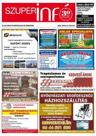 Mateszalka 2020.07.03