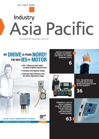 Industry Asia Pacific | 33 - July 2020