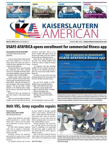 Kaiserslautern American - July 10, 2020