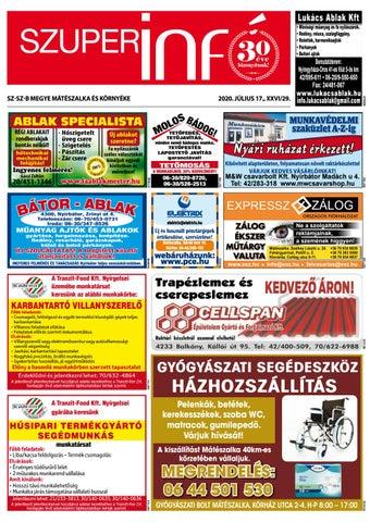 Mateszalka 2020.07.17