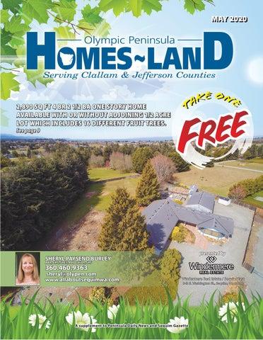 Homes-Land Olympic Peninsula May 2020